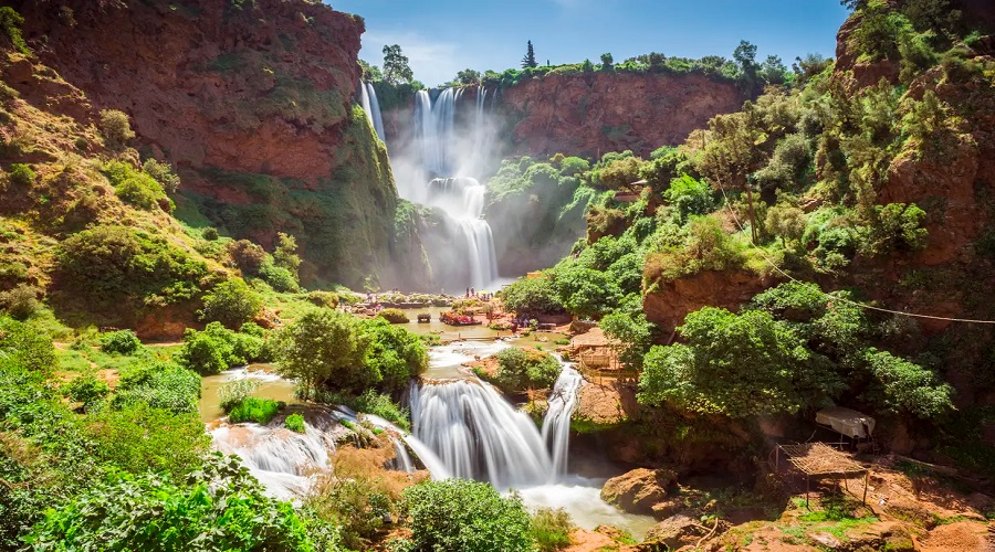 One Day Excursions From Marrakech : Ouzoud Waterfalls