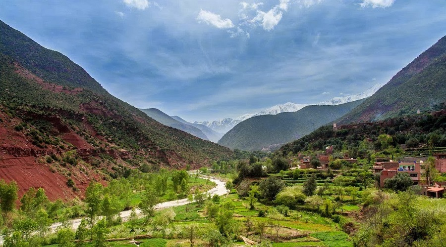 One Day Excursions From Marrakech : Ourika Valley